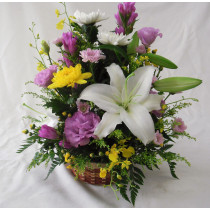 御供え用和花アレンジメント