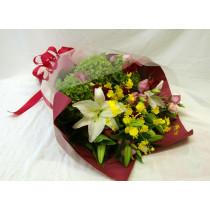 ユリの豪華花束