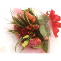 季節の花束(赤系)